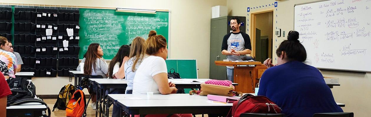 college algebra class