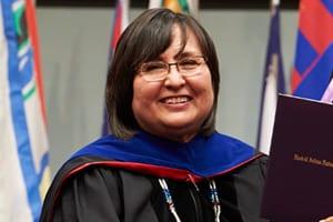 Our university president