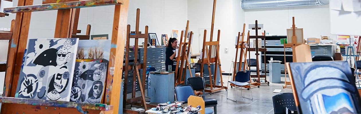 Art department studio