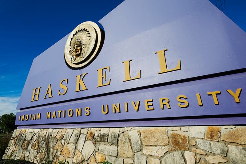 Haskell University entrance