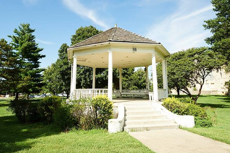 Historic pavilion