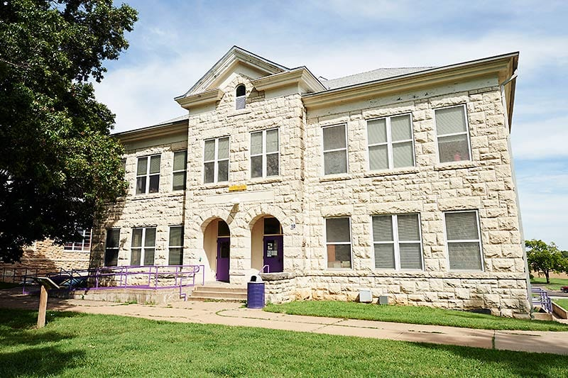 Historic building on Haskell campus