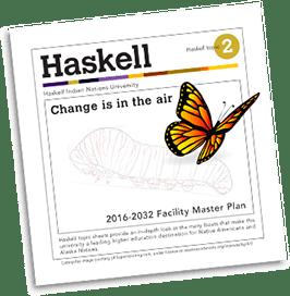 Haskell Master Plan brochure